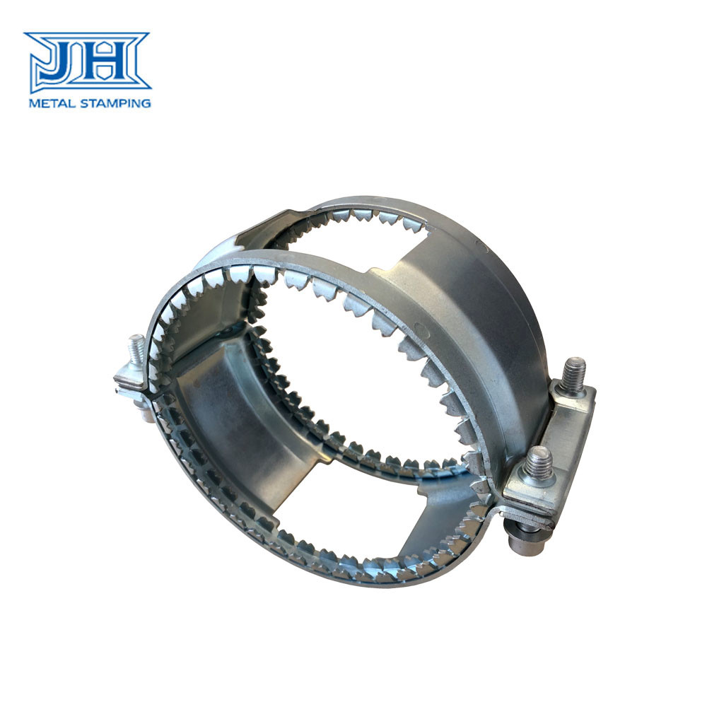 JH Construction Hardware Customized Stamping Part Tube Clamp Clip