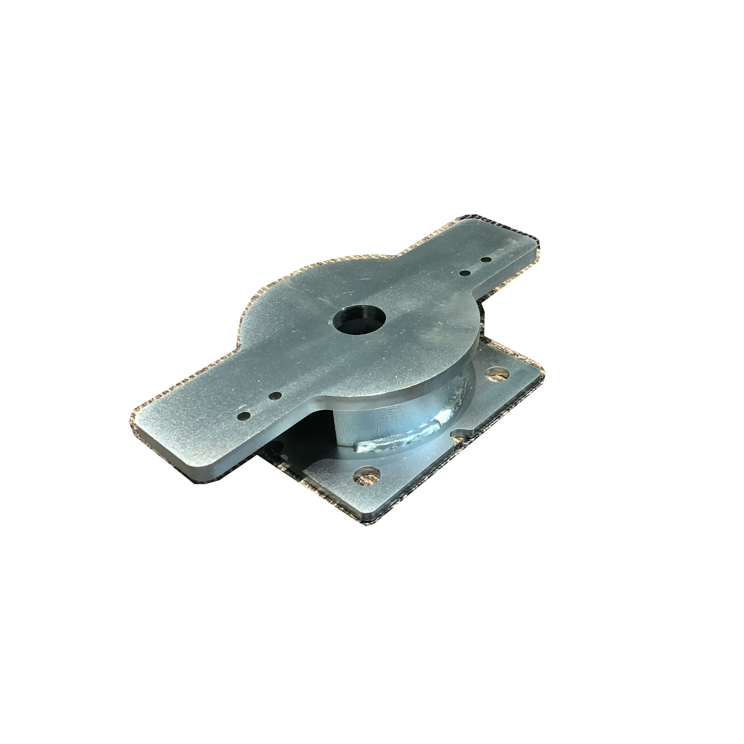 Heavy Duty Stamping Elevator Brackets  Galvanized Steel Welding Support Parts