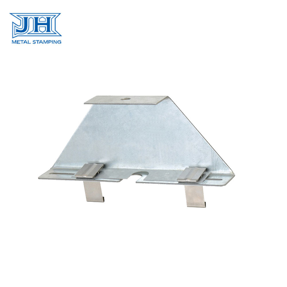 Stainless Steel Construction Hardware Stamping Fixation Parts / Sheet Bending Clip Part